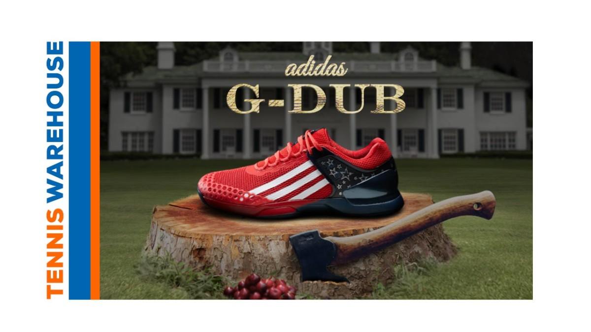 "on sale ebf7f a8fd4 Tennis Warehouse ""adidas Adizero Ubersonic G Dub Shoe""  Daren Stottrup  Productions"