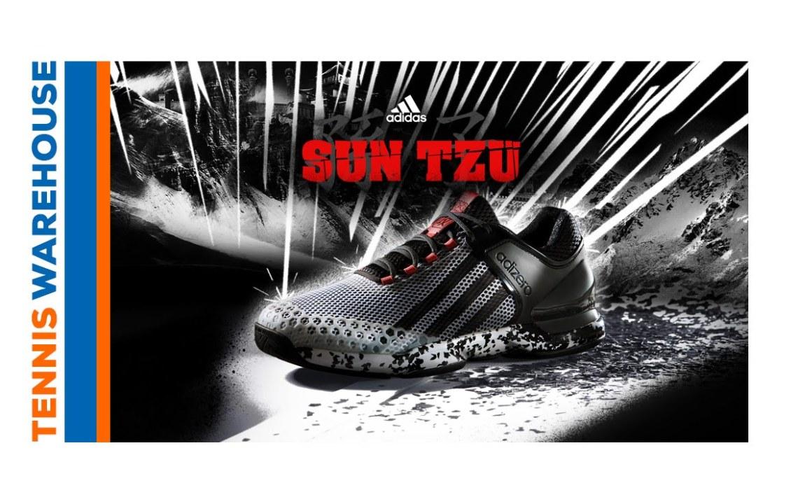 "Tennis Warehouse: ""adidas Adizero Ubersonic Sun Tzu"""