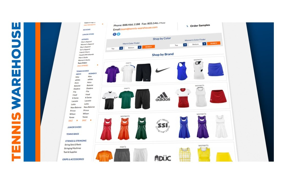 "Tennis Warehouse ""Tennis Team Uniforms at Tennis Warehouse - How To Order"""
