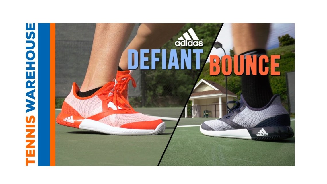 "Tennis Warehouse: ""adidas Defiant Bounce Exclusive"""