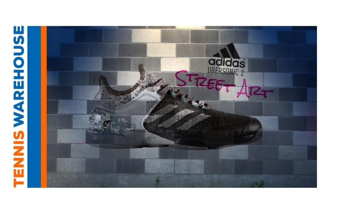 Tennis Warehouse: adidas Adizero Ubersonic 2 Street Art