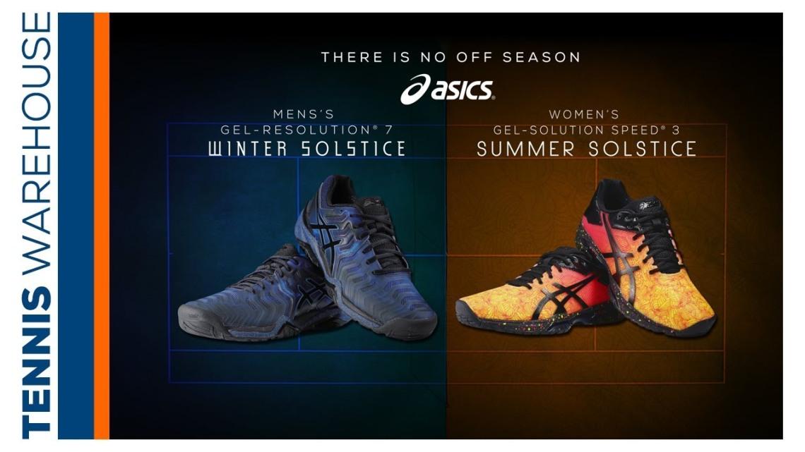 "TW Exclusive: Asics Tennis Shoe ""Solstice Pack"""